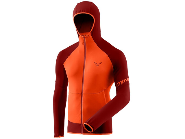 Dynafit Transalper Light Polartec Hættetrøje Herrer, orange/rød